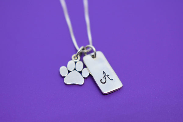 Pet Memorial Gift - Personalized Pet loss Gifts Necklace - Dog - Cat - Jewelry - Dog Remembrance - Fur Baby - In Memorial - Sympathy Gift - Designs By Tera