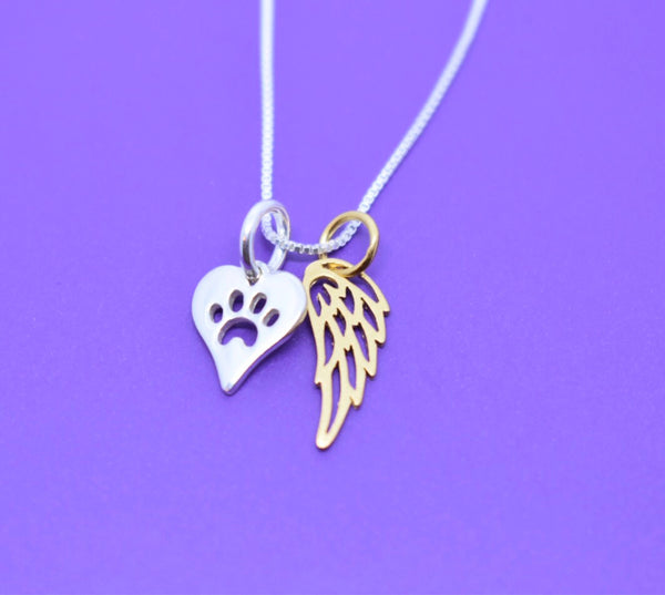 Pet Memorial Gift, Dog loss Gifts Necklace, Cat - Jewelry - Dog Remembrance - Fur Baby - In Memorial - Sympathy Gift - Designs By Tera