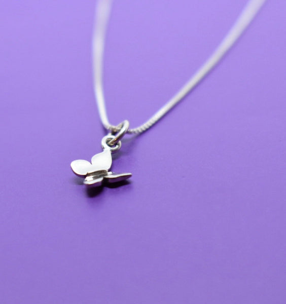 Butterly Necklace - Tiny Butterfly Jewelry  - Sterling Silver Butterfly Necklace - Gift - Gift for Daughter - Graduation Gift - Designs By Tera