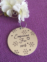 Personalized Ornament - Name ornament - baby's first christmas - year christmas ornament - Christmas gift - Ornament - Designs By Tera