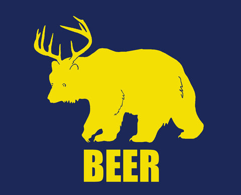 Bear + Deer = Beer Tee