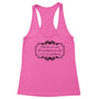 99 Problems Women's Racerback Tank