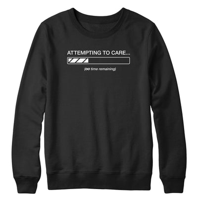 Attempting to Care Crewneck