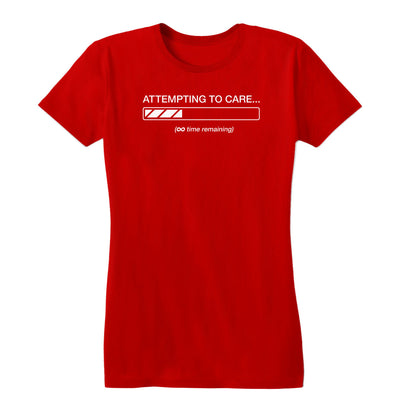 Attempting to Care Women's Tee