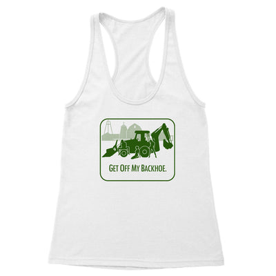 Backhoe Women's Racerback Tank
