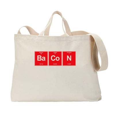 Bacon Elements Tote Bag
