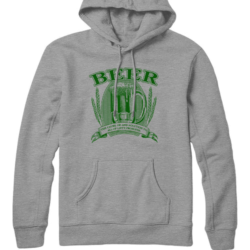 Beer, Cause and Solution Hoodie