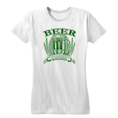 Beer, Cause and Solution Women's Tee
