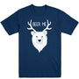Bear + Deer = Beer Me Men's Tee