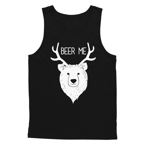 Bear + Deer = Beer Me Tank Top