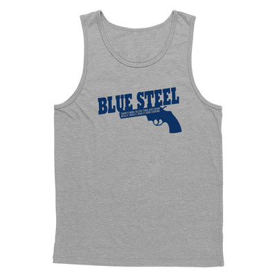 Blue Steel Tank Top