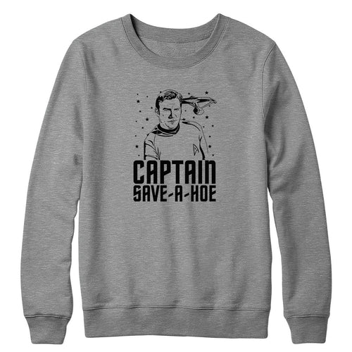Captain Save A Hoe Crewneck