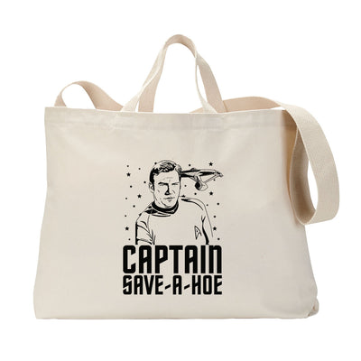 Captain Save A Hoe Tote Bag