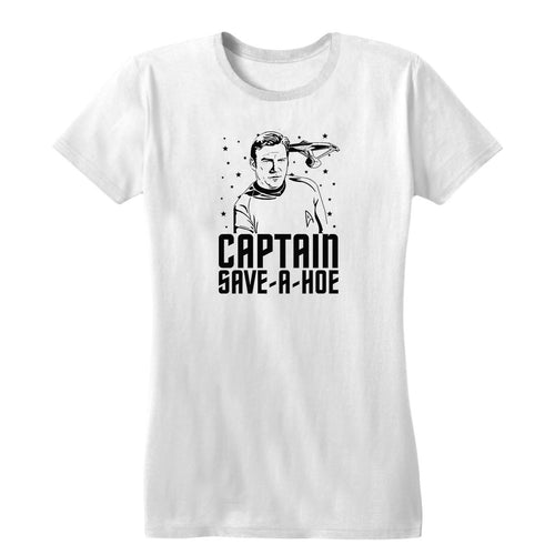 Captain Save A Hoe Women's Tee