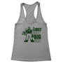 Cut A Big One Women's Racerback Tank
