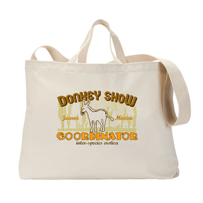 Donkey Show Coordinator Tote Bag