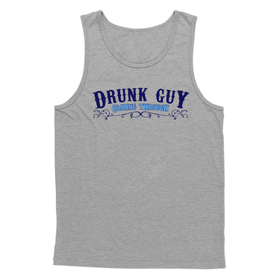 Drunk Guy Coming Through Tank Top