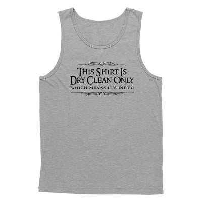 Dry Clean Only Tank Top