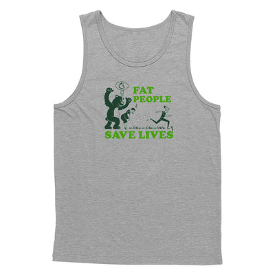Fat People Save Lives Tank Top