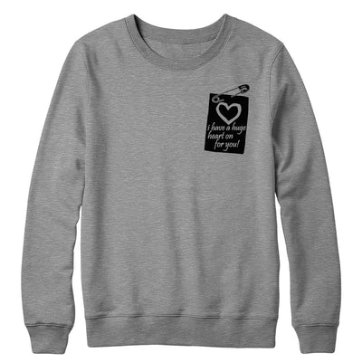 Heart On Crewneck