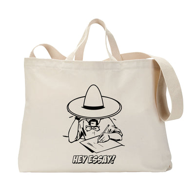 Hey Essay Tote Bag