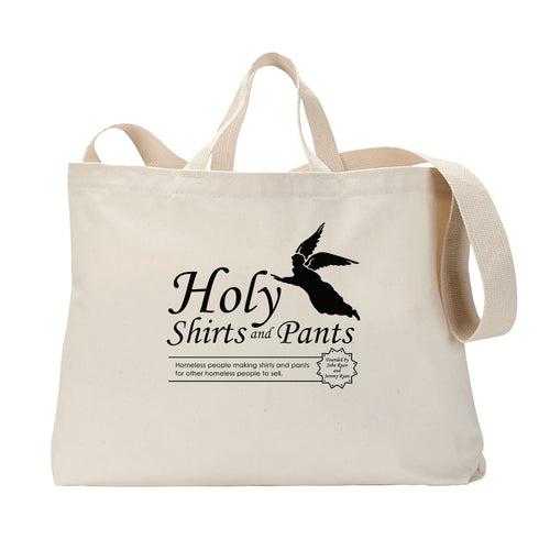 Holy Shirts and Pants Tote Bag