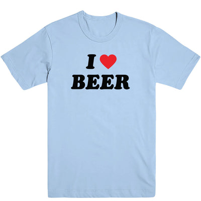 I Love Beer Men's Tee