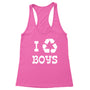 I Recycle Boys Women's Racerback Tank
