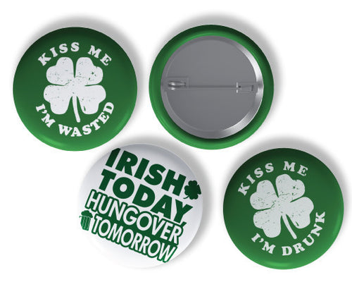 St. Patty's Day Button Pack