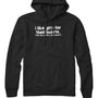 I Like Girls Jiggly Hearts Hoodie