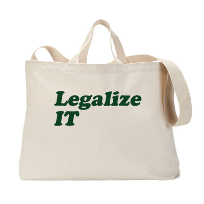 Legalize IT Tote Bag