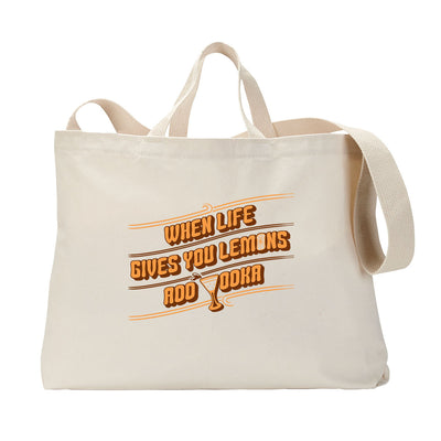 Lemon Vodka Tote Bag