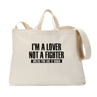 Lover Fighter Tote Bag