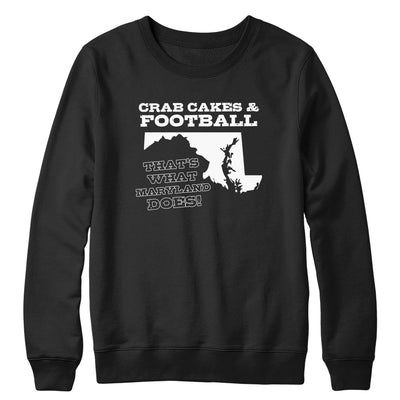 Crab Cakes & Football Crewneck