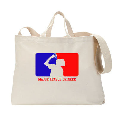 Major League Drinker Tote Bag