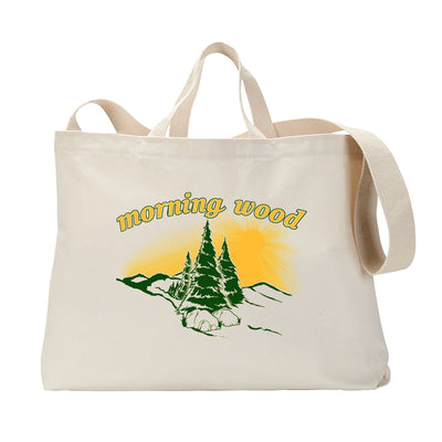 Morning Wood Tote Bag