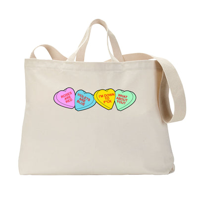 Roses Red Tote Bag