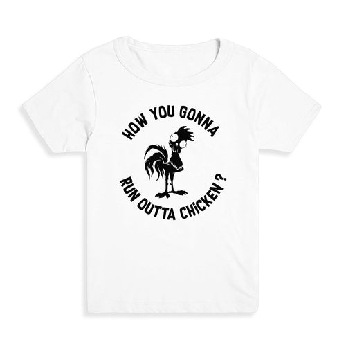 Run Outta Chicken Kid's Tee