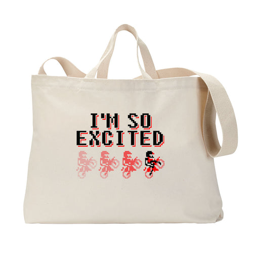 So Excited Tote Bag