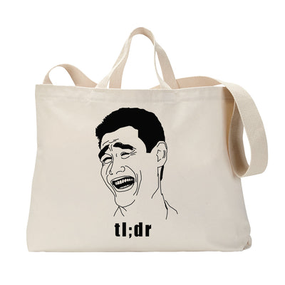 Too Long Didn't Read Tote Bag