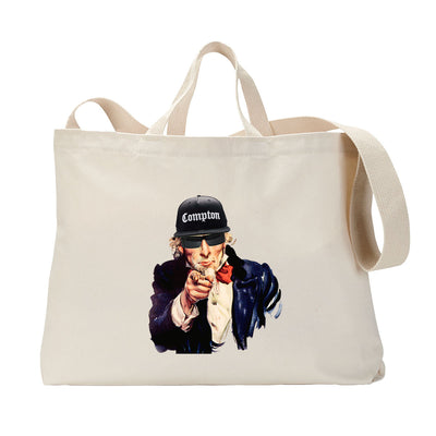 Uncle Hammered Tote Bag
