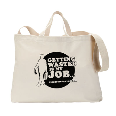 Wasted Job Tote Bag