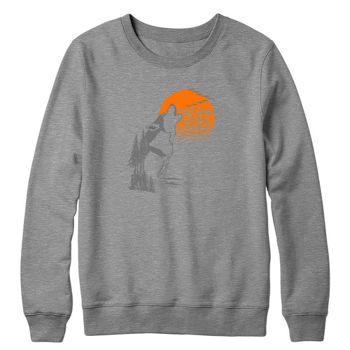One Man Wolf Pack Crewneck
