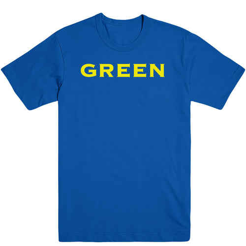 Yellow Blue Green Tee
