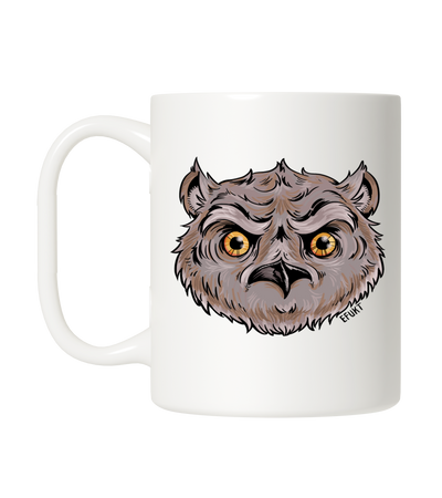 Owl Head Coffee Mug