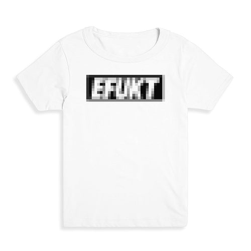 Pixelated Logo Kid's Tee