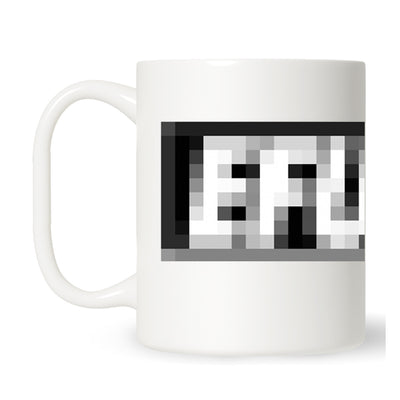 Pixelated Logo Mug