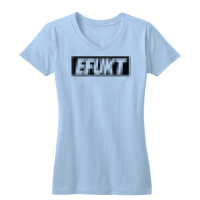 Pixelated Logo Women's V