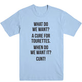 Cure for Tourettes Men's Tee