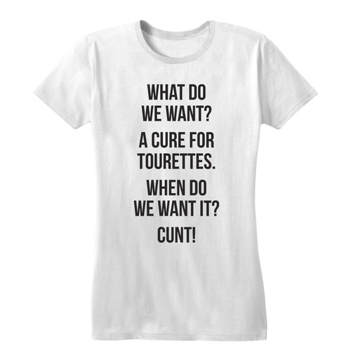 Cure for Tourettes Women's Tee